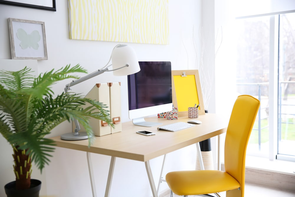 organize your workspace for a positive mindset