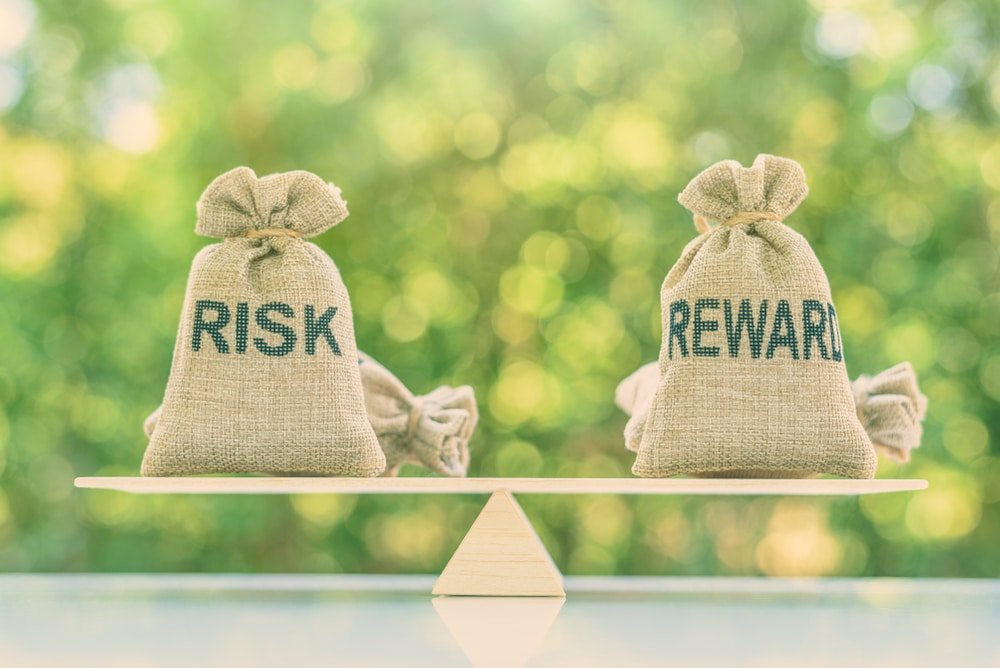 risk versus reward — stock investing